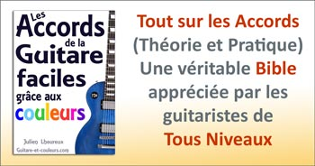La bible des accords à la guitare