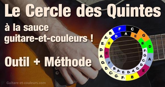 Le Cercle des Quintes (Outil + Méthode)