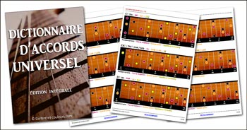 Le dictionnaire d'accords de guitare universel
