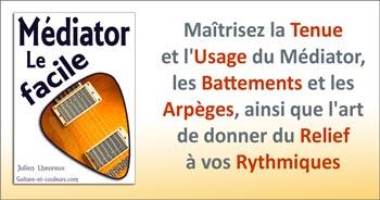 Apprenez à Jouer la Guitare au Médiator