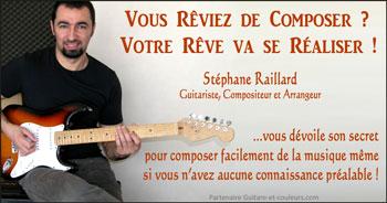 Libérez le compositeur qui vit en vous avec Stéphane Raillard…