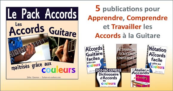 Le Pack Accords guitare