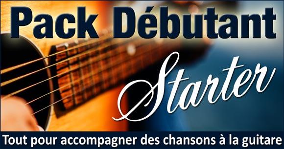 Pack Guitare Débutant STARTER