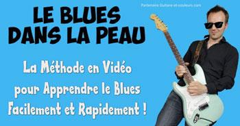Découvrez cette excellente méthode pour apprendre à jouer le Blues à la Guitare…